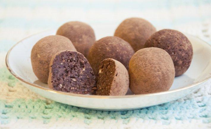 Пирожное «Картошка» из зерновых хлопьев
