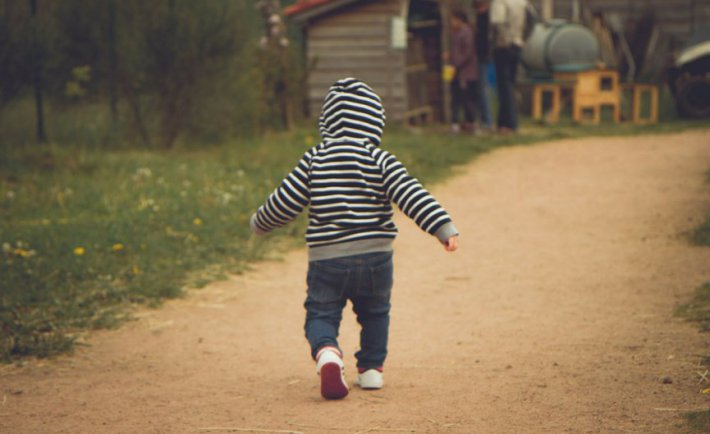 Чтобы ребенок шел в нужном направлении